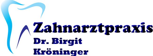 Logo der Zahnarztpraxis Dr. Birgit Kröninger